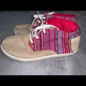 TOMS Paseo Mid Shoe SZ Y 5